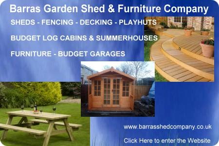 Garden Sheds Rutherglen barras garden shed & furniture company in glasgow fencing decking